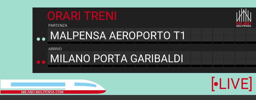 malpensa aeroporto t1 milano porta garibaldi