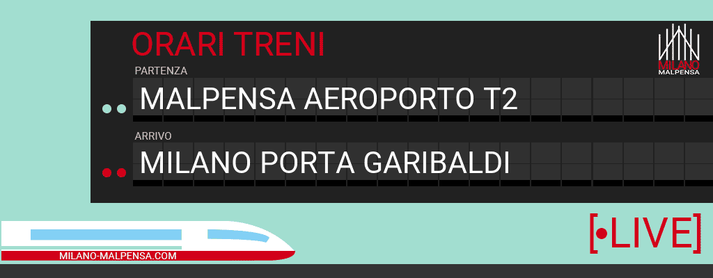 malpensa aeroporto t2 milano porta garibaldi
